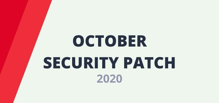 [Update: Nov. 26] Android October security update/patch 2020 tracker for all major OEMs and carriers worldwide