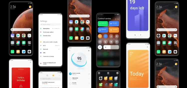 MIUI 12.5 beta (21.1.19) update: Blur activated for Notifications & Sound Control Panel's background