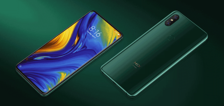 Xiaomi Mi Mix 3 MIUI 12.5 stable update rolling out (Download link inside)