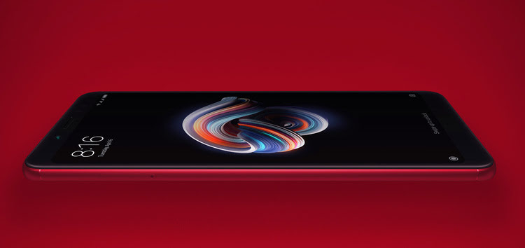 New MIUI 12 build for Redmi Note 5 Pro currently released only for limited users, still no ETA for wider rollout