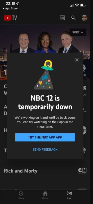 NBC-Channel-12-down-YouTube-TV