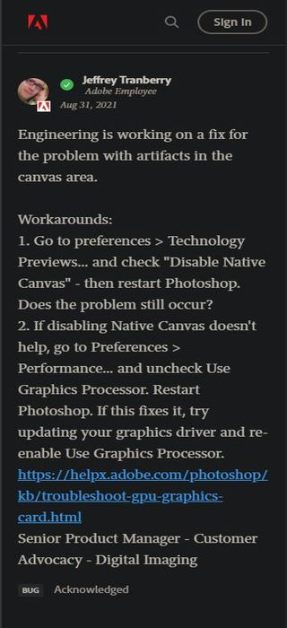 Adobe-Photoshop-artifacts-macos-Catalina-issue-official-workaround