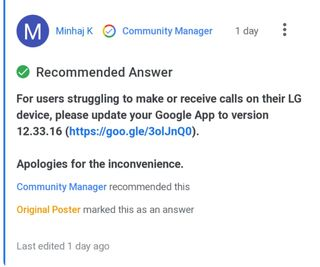 Google-app-v12.33.13-voice-call-function-issue